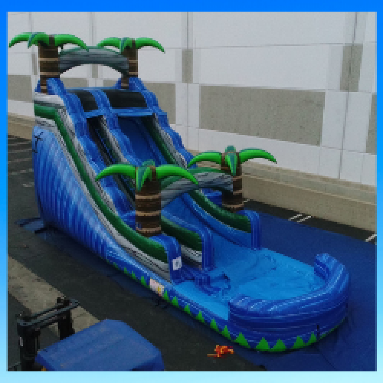18ft Tropical Slide